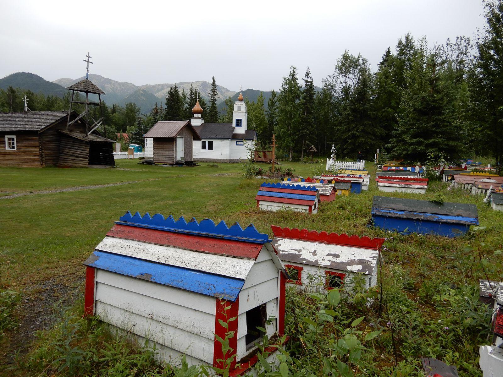 Friedhof in Eklutna