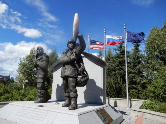 WW II Monument, Fairbanks