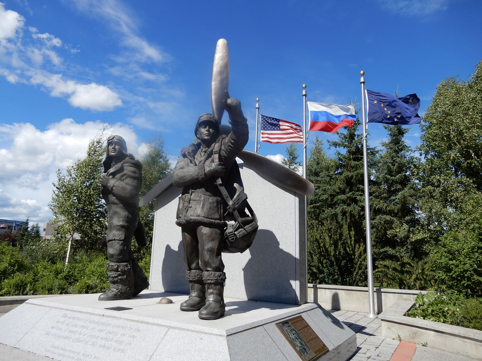 WW II Monument, Fairbanks