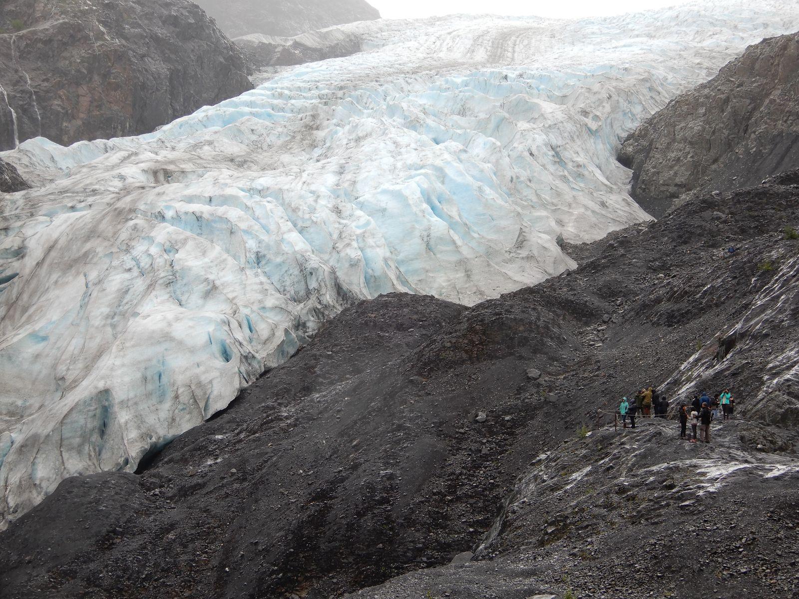 Exit Gletscher in Alaska