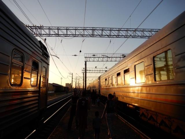Transsibirische Bahn