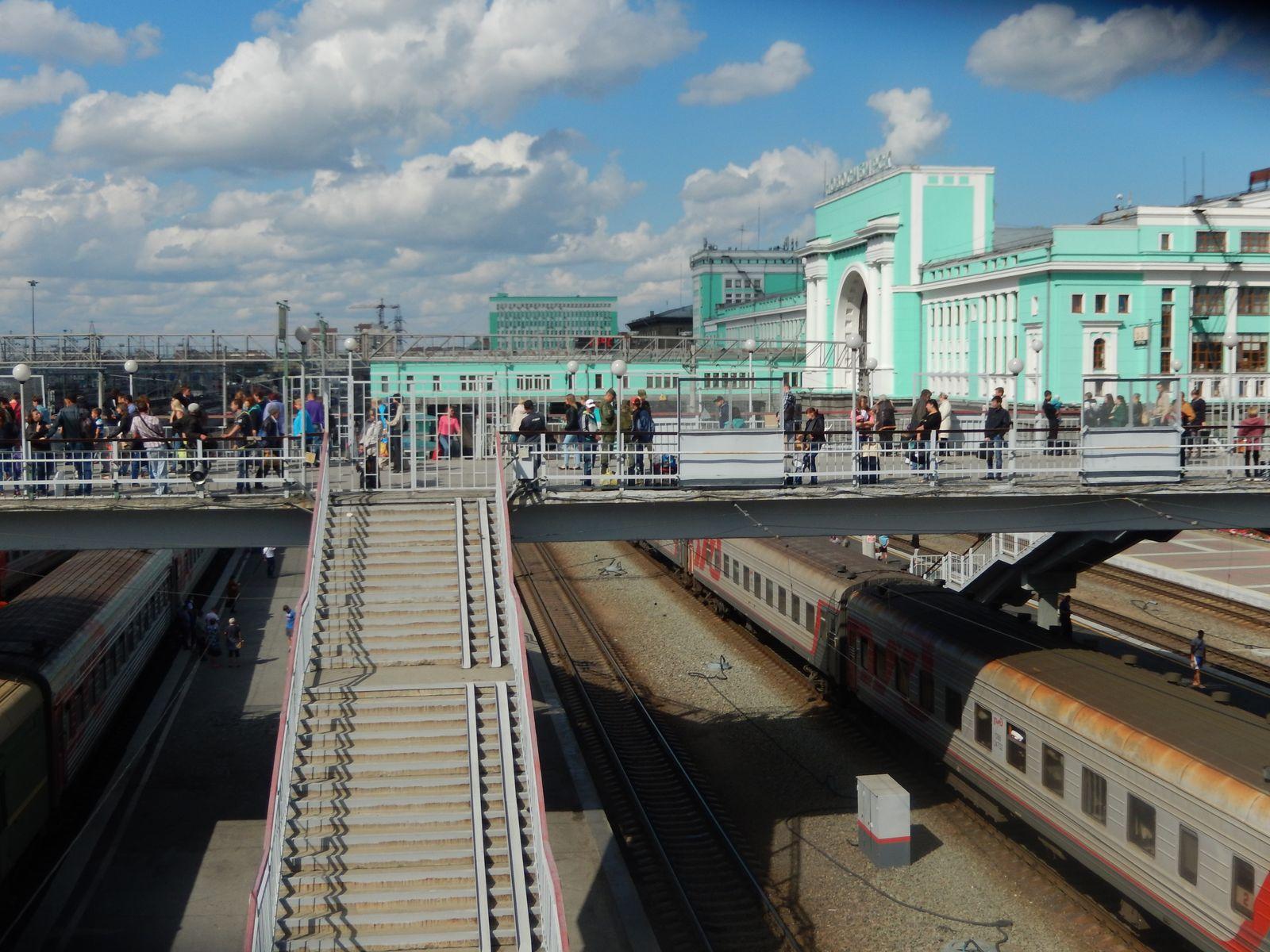 Bahnhof Novosibirsk