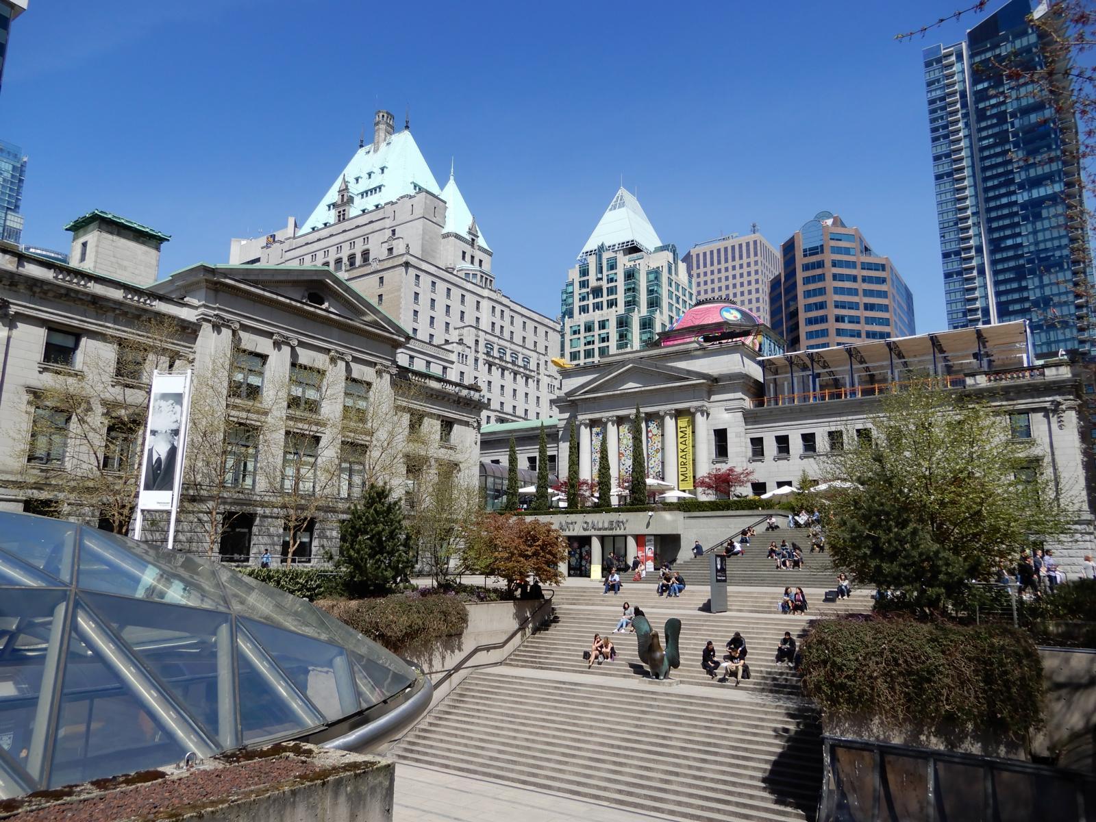 Alt und neu in der Downtown Vancouver