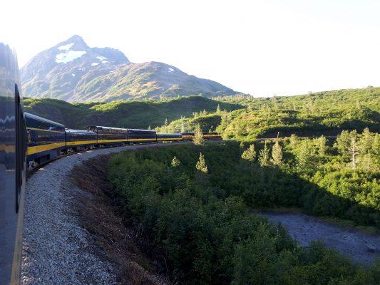 Alaska Tourismus - die ARR im Sommer