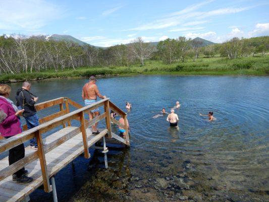 Kamtschatka Bad im Khoudutka